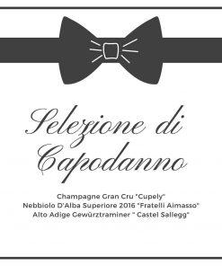 Selezione-Capodanno-CantinaCaio-Champagne-Nebbiolo-Gewuerztraminer